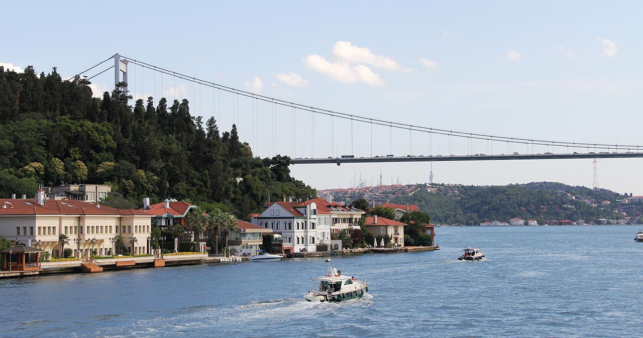 Morning Bosphorus Cruise with Stopover On The Asian Side