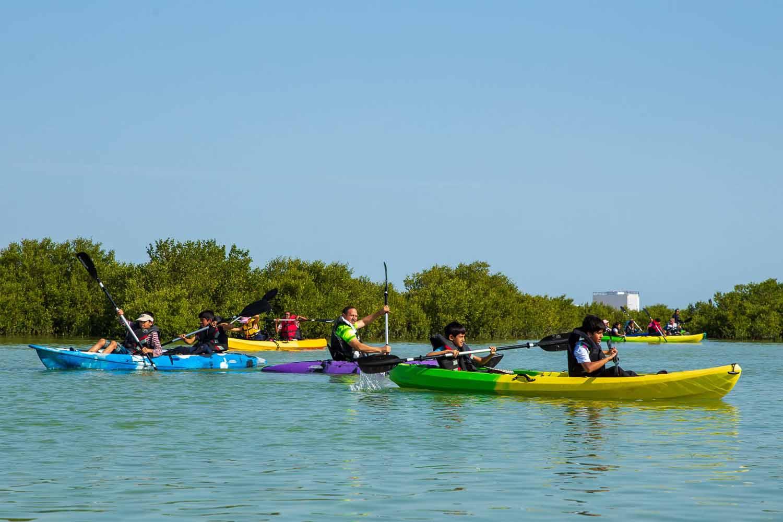 Kayaking at the Purple Island
