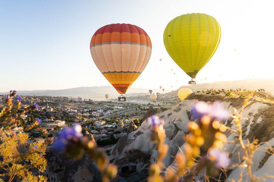 Hot Air Balloon Flight in Cappadocia (Turkey)