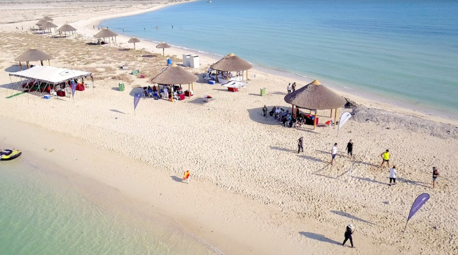 Hit the beach on Al Safliya Island